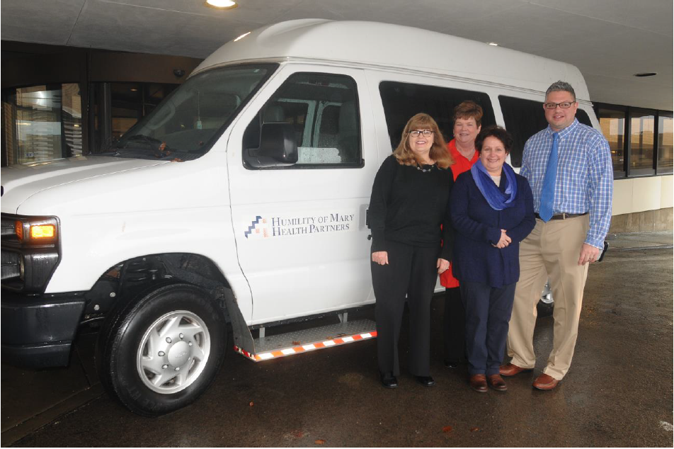 Mercy Health Foundation Mahoning Valley Donates Transportation to Catholic Charities