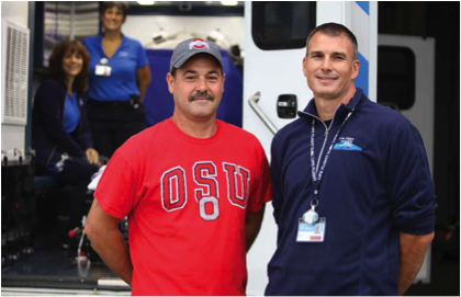 Mercy Health's Mobile Stroke Unit brings the 'ER door to the stroke patient'